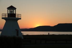 Phare sur le lieu de camping Carleton-sur-Mer